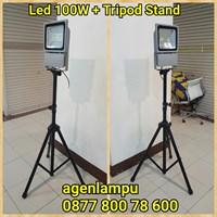 Lampu Sorot 100W Stand