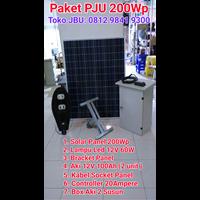 Street lights PJU 60W Solar Cell