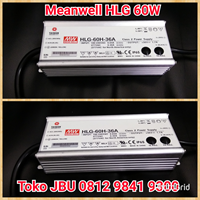Lampu LED Driver 60W Meanwell