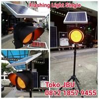 Lampu LED Flashing Solar Cell