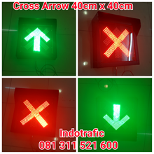 Lampu LED Cross Arrow 40cm