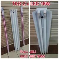 Lampu TL TKO 2 x 16W LED