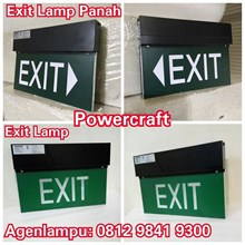 Lampu TL Emergency EXIT Powercraft