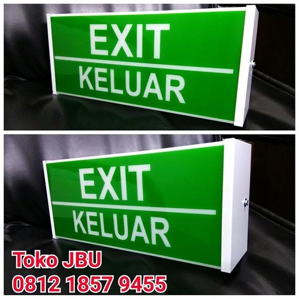 Lampu TL Exit Box 10W