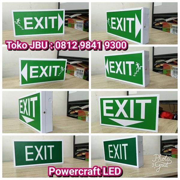 Lampu LED Emergency Powercraft