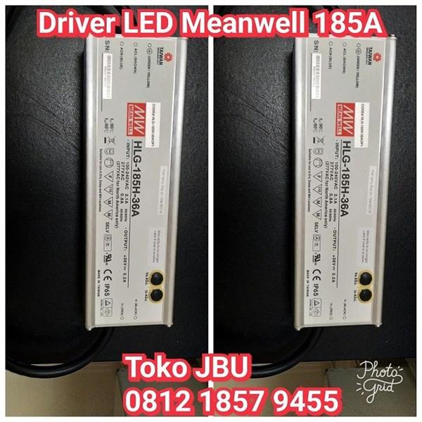 Lampu LED Driver 185W Meanwell