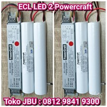 Lampu LED Emergency Battery ECL LED 2