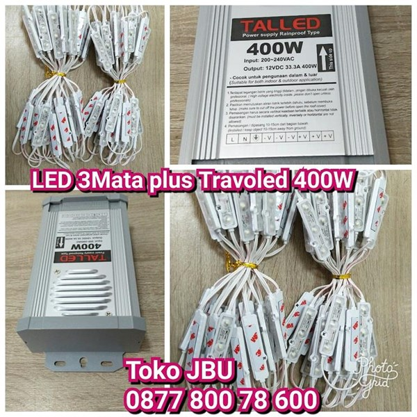 Lampu LED 3 Mata Samsung