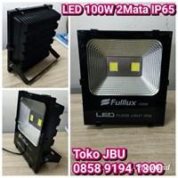 Lampu LED 100W 2 Mata