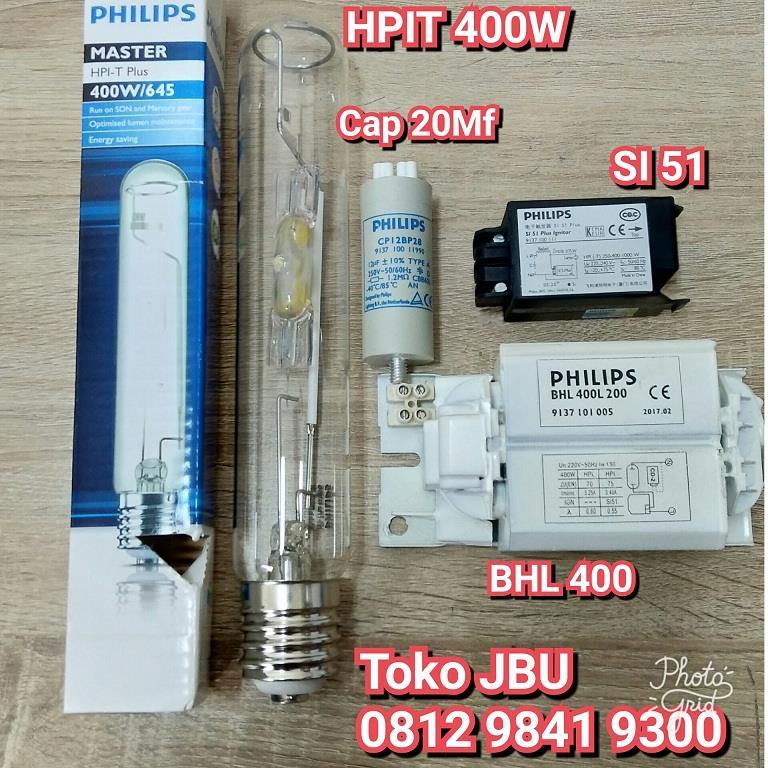 Jual Lampu Sorot HPI-T 400W Komponen Harga Murah Jakarta