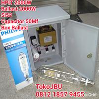 Lampu Sorot HPI-T 2000W Komponen