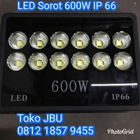 Lampu Sorot LED 600W IP 66