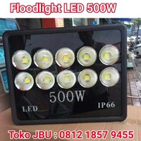Lampu Sorot LED 5000W IP 66 Model 10Mata