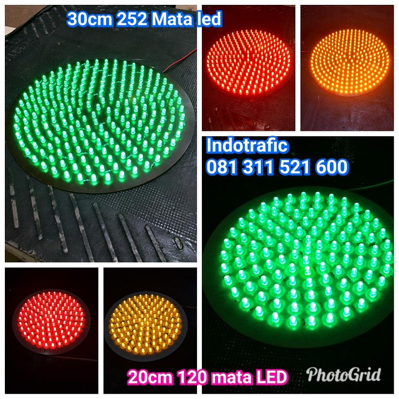 Jual Lampu LED 30cm Modul Traffic Light Harga Murah