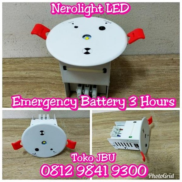 Dl Led Emergency 1Watt Nerolight