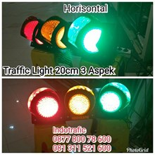 Lampu LED  Traffic Light Horisontal