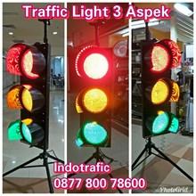 Lampu LED Traffic Light 3 Aspek