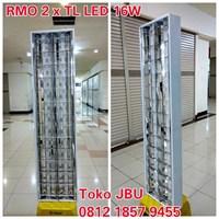 Lampu Plafon RMO 2 x TL LED 16W