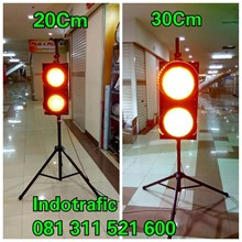 Lampu Traffic Light Warning Light 20cm dan 30cm