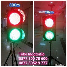 Lampu Traffic Light 2 Aspek RG