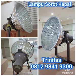 Lampu Sorot Kapal Halogen 1000W Model Corong