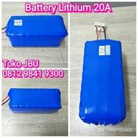 Baterai Lithium 20Amper