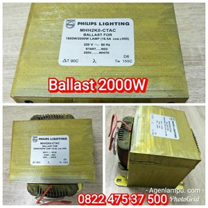 Komponen Lampu Ballast Metal Halide 2000W