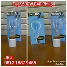 Lampu Bohlam Pijar 500W E40