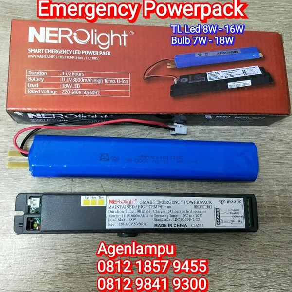 Lampu Emergency Charger TL LED