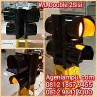 Lampu Flashing LED 30cm 2 Sisi