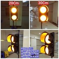 Lampu Traffic Light  Flashing 20cm dan 30cm 1