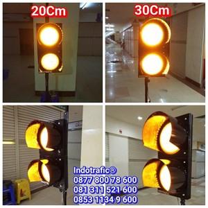 Lampu Traffic Light  Flashing 20cm dan 30cm