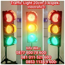 Lampu Traffic Light  20cm 3Aspect