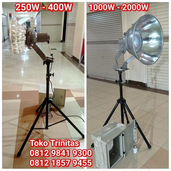 Lampu Sorot Metal Halide 400W 1000W