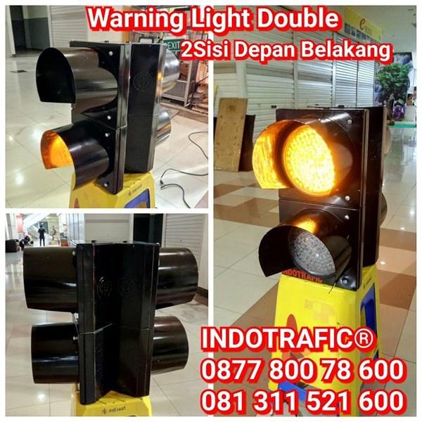 Lampu Traffic Light  2 Muka
