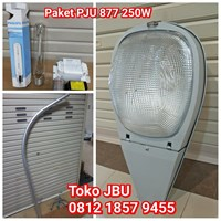 Lampu Jalan PJU Model 877 250W