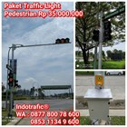 Lampu Traffic Light  Paket Pedestrian Lengkap 1