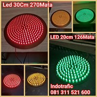 Lampu Traffic Light  Modul LED 30cm dan 20cm