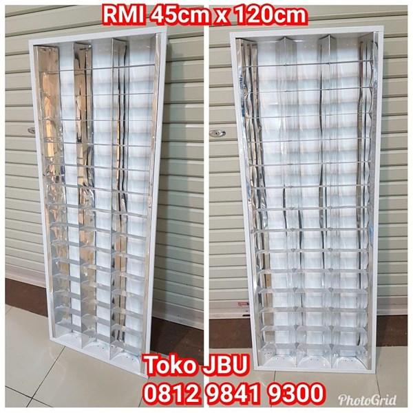 Lampu TL RMI 3 x 18W Stainless