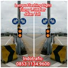 Lampu Traffic Light  Flashing Jalan Toll 1