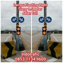 Lampu Traffic Light  Flashing Jalan Toll