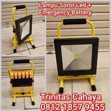 Lampu Sorot LED 50W Plus Emergency