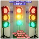 Lampu Traffic Light  LED 20cm 3 Aspek 1