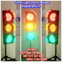 Lampu Traffic Light  LED 20cm 3 Aspek
