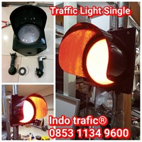 Lampu Traffic Light  Single Indotrafic