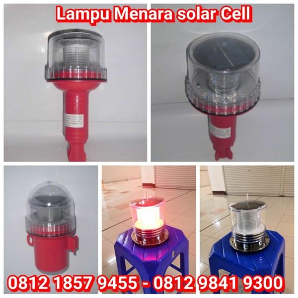 Lampu Obstruksi LED Solar Cell