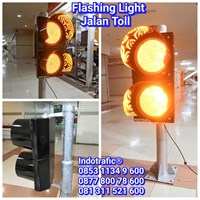 Lampu Traffic Light  Jalan Toll