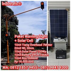 Traffic Light Solar Cell