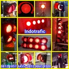 Lampu Traffic Light Merah 1