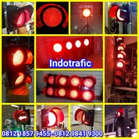 Lampu Traffic Light Merah